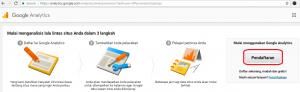 Cara mendaftar dan memasang Google Analytics pada website berbasis CMS wordpress - 1