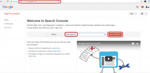 Cara mendaftarkan website ke Google Webmaster Tools - 1