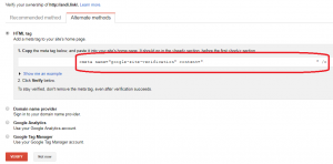 Cara mendaftarkan website ke Google Webmaster Tools - 2