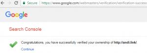 Cara mendaftarkan website ke Google Webmaster Tools - 5