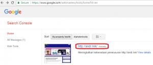 Cara mendaftarkan website ke Google Webmaster Tools - 6