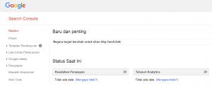 Cara mendaftarkan website ke Google Webmaster Tools - 7
