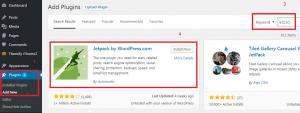 Jetpack Plugin melihat statistik pengunjung website simple - 1