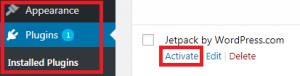 Jetpack Plugin melihat statistik pengunjung website simple - 2