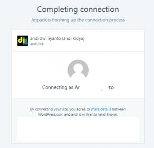 Jetpack Plugin melihat statistik pengunjung website simple - 4