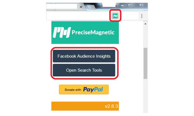 PreciseMagnetic: Tools pencari audiens untuk Facebook