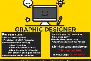 Lowongan Kerja Graphic Designer di Ajibarang, Banyumas