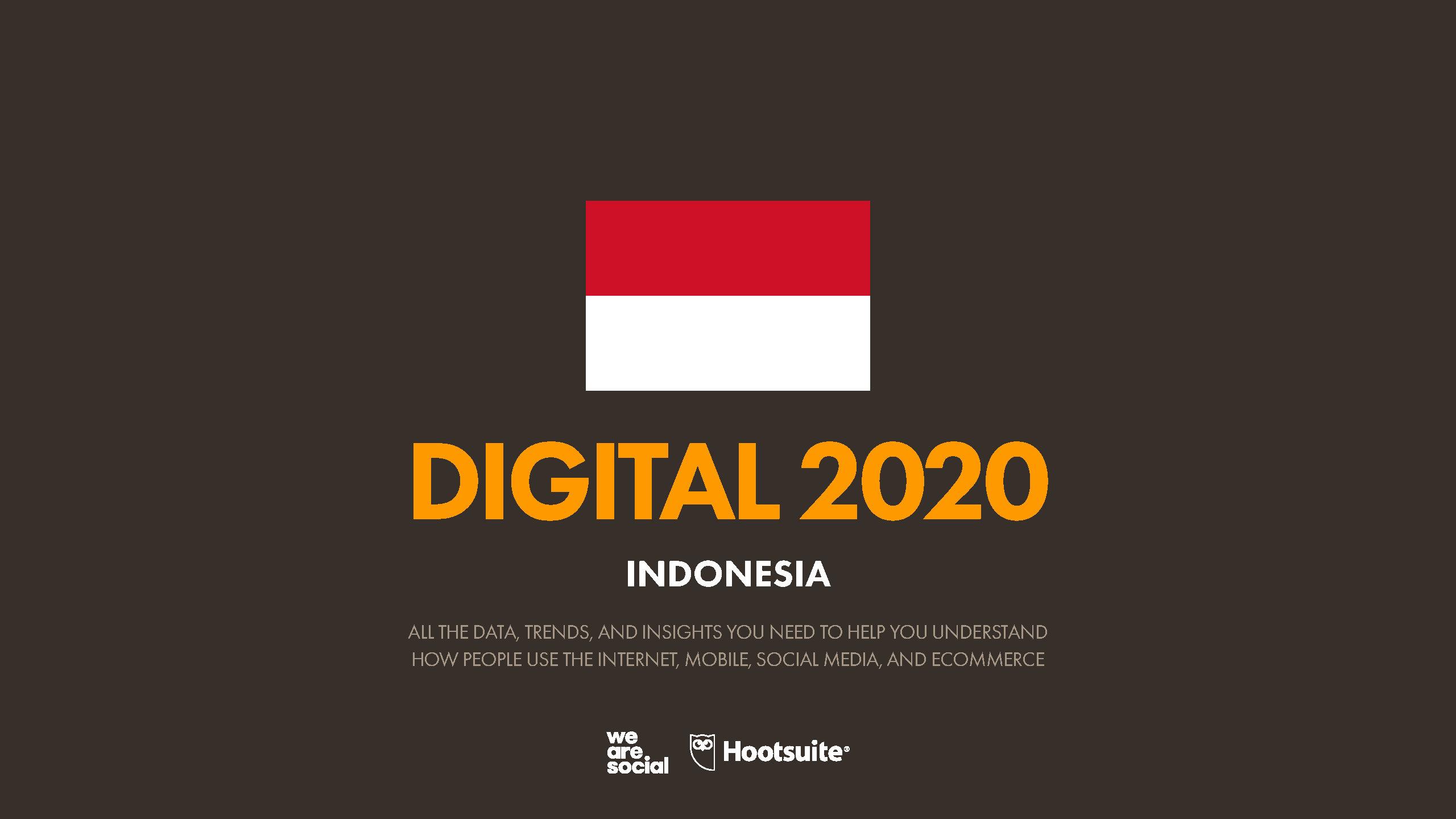 Hootsuite (We are Social) Indonesian Digital Report 2020