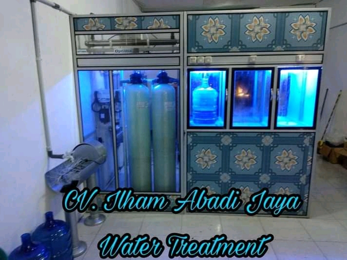 CV. Ilham Abadi jaya Pemasang Depot Air Minum Water Treatment Medan